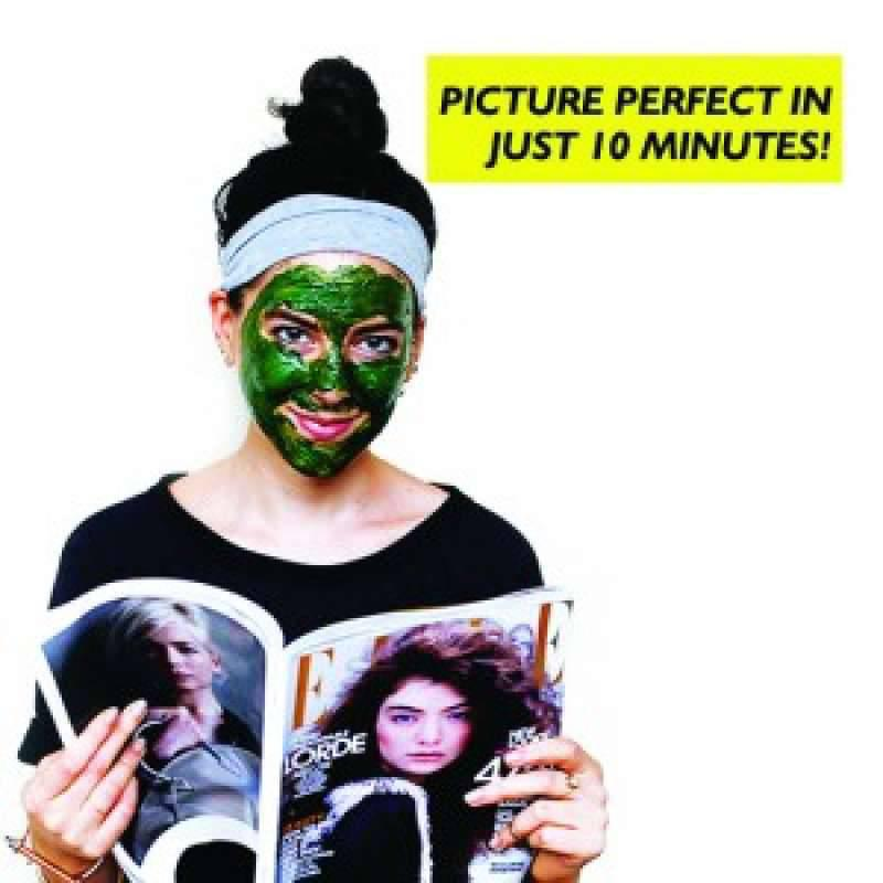 Instant Glow Anti-Ageing Spirulina Face-pack