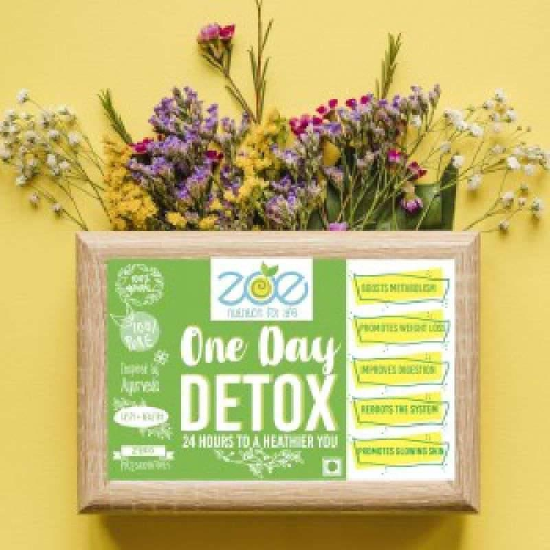 One Day Detox - Lose upto a kg in a day!