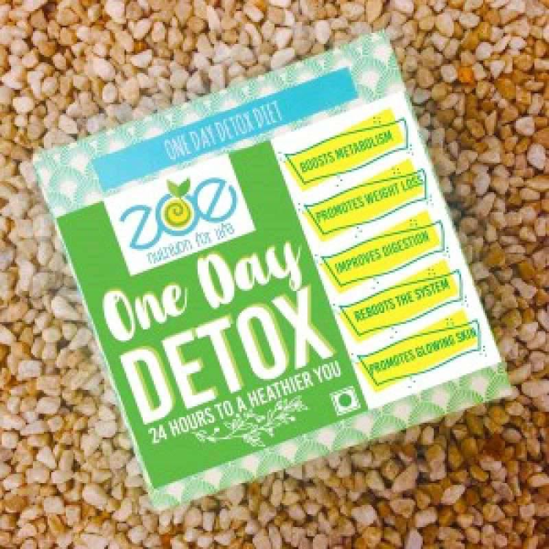 One Month Detox - 4 Packs of One Day Detox. Lose upto 2-4 kilos in a month