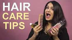 TIPS FOR HEALTHY AND LONG HAIR